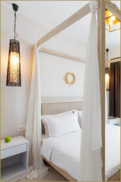 Terezas Hotel in Sidari - Room for four person.